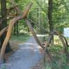 Vedlejší vstupní brána do parku