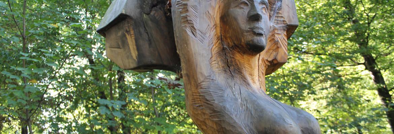 Socha Patronky Lesního parku