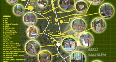 Mapka lesního parku